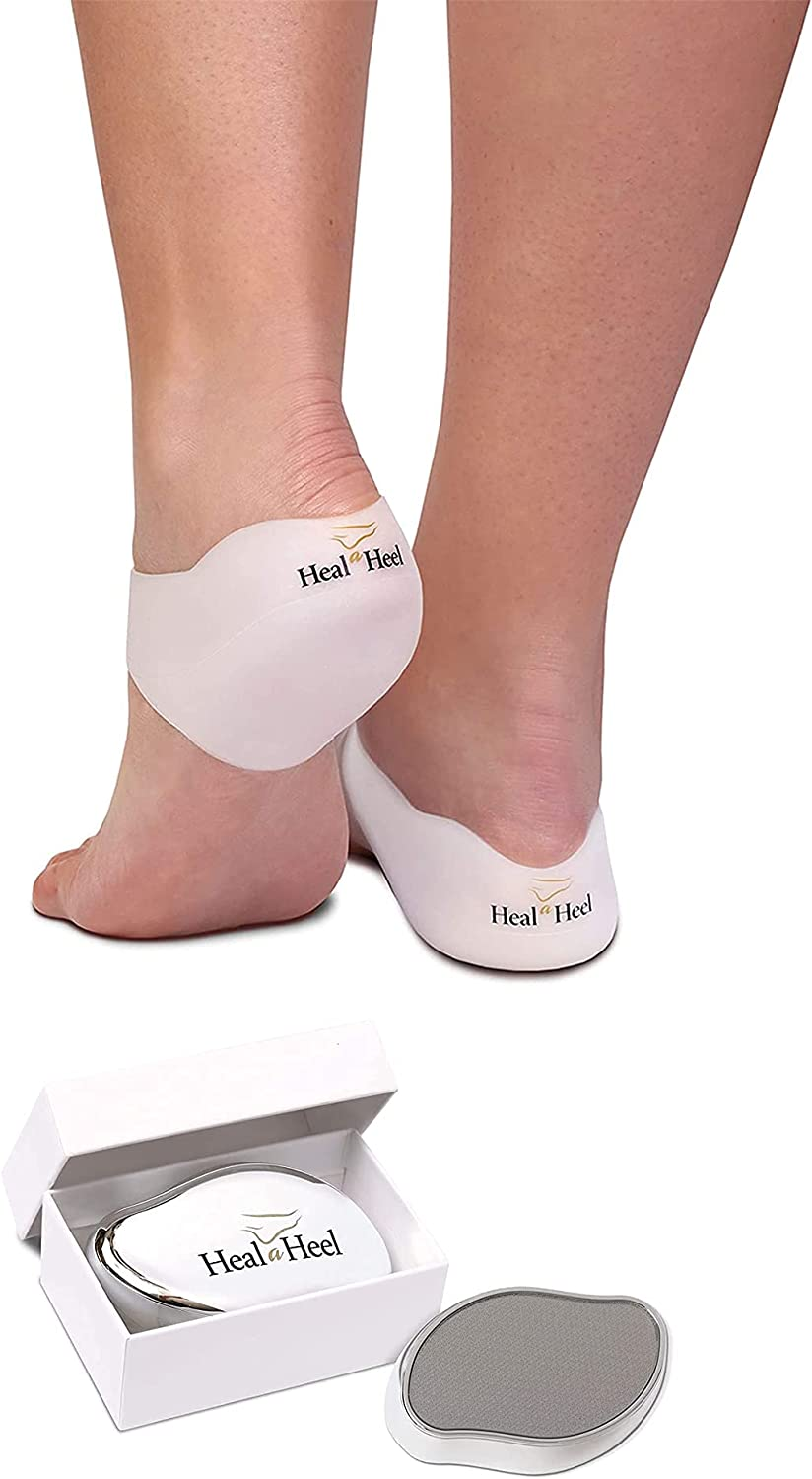 Heal A Heel Silicone Cups Size + Na M File NanoGlass A surprise price is realized New color Foot