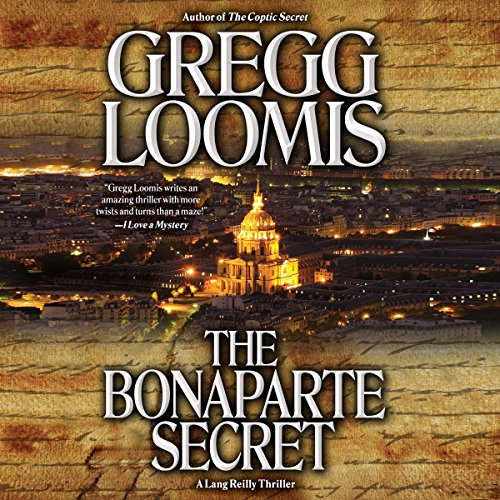 The Bonaparte Secret audiobook cover art