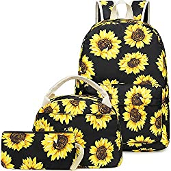 cheap BLUBOON School Backpack Girls Bag Teenage lunch bag and pencil case cute …