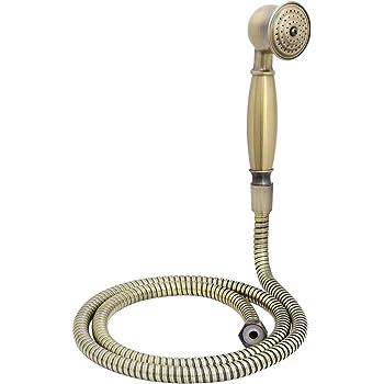 Vetrineinrete Laccio doccia bronzo tubo flessibile per doccetta e vasca da 200 150 cm attacco 1//2 pollici per soffione P92 150 cm