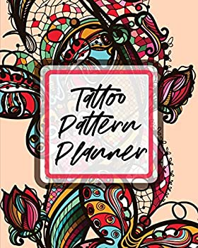 Tattoo Pattern Planner  Cultural Body Art - Doodle Design - Inked Sleeves - Traditional - Rose - Free Hand - Lettering