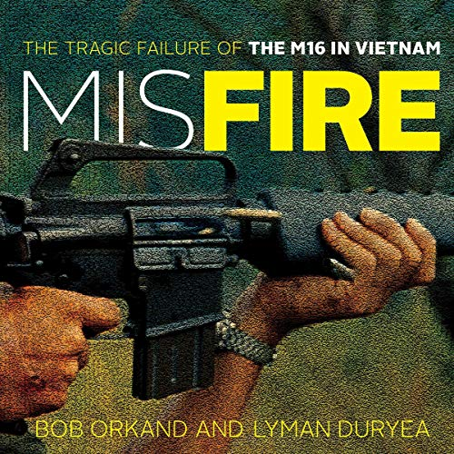 Misfire audiobook cover art