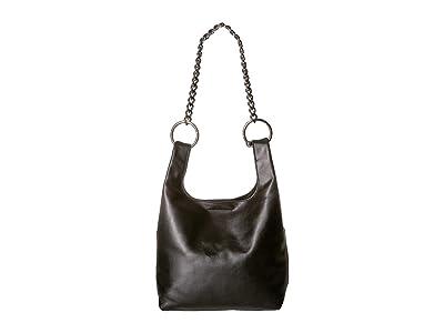 Rebecca Minkoff Karlie Chain Shopper (Black) Tote Handbags