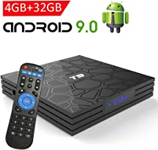 Android TV Box 9.0,EASYTONE T9 Android TV Box 4GB RAM 32GB ROM Quad Core/ 2.4G+5G Dual..