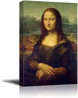 wall26 - Mona Lisa by Da Vinci Famous Painting - Canvas Art Wall Decor - 24