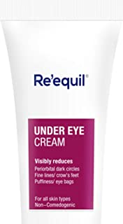RE' EQUIL Under Eye Cream for Dark Circles, Wrinkles, Puffy Eyes, and for all skin types - 20g
