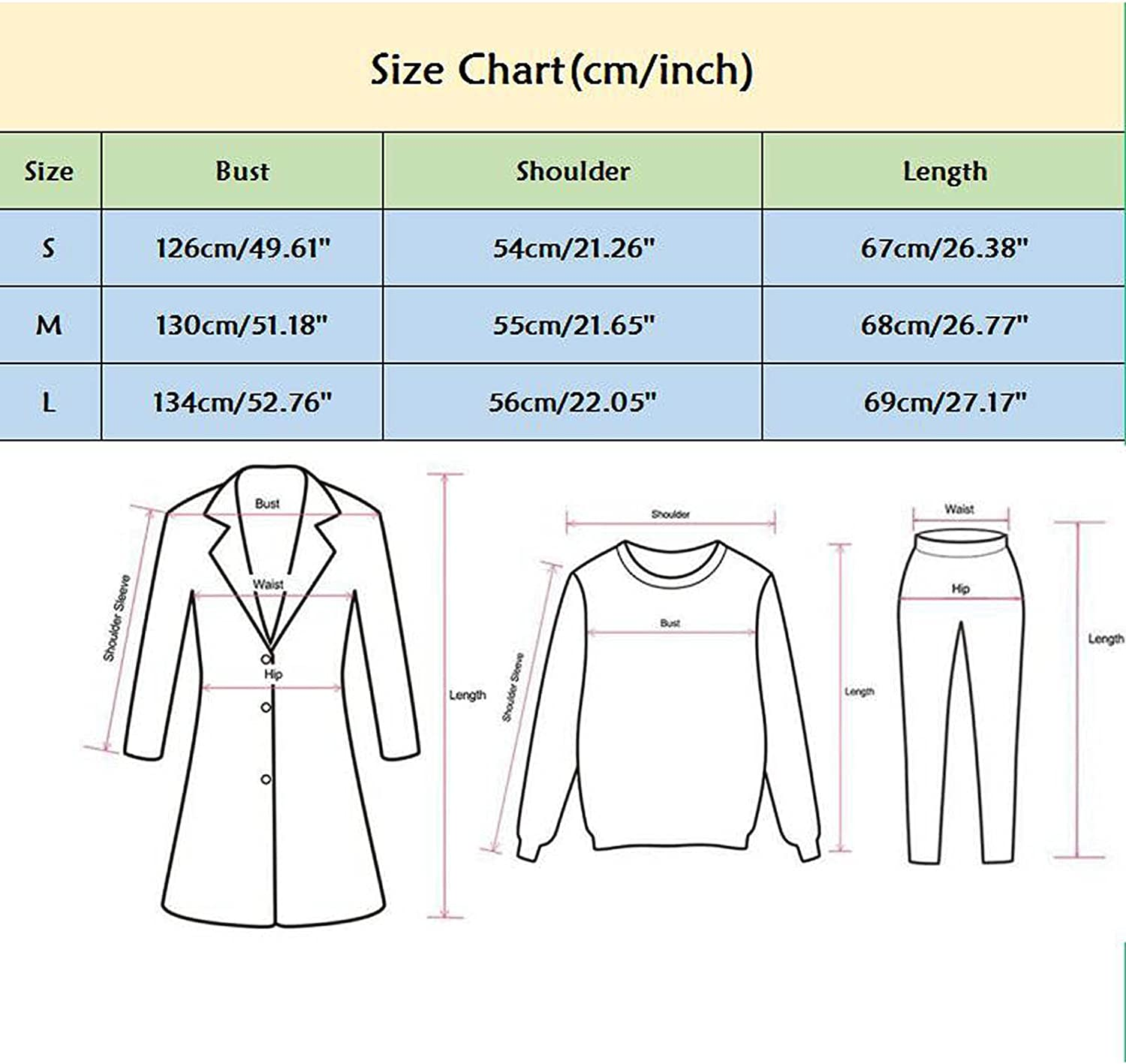 Misaky Women's Loose Jacket Top Casual Full Zip Up Butterfly Perm Long Sleeve Hoodie
