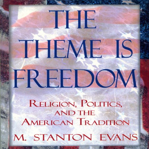 The Theme Is Freedom audiobook cover art