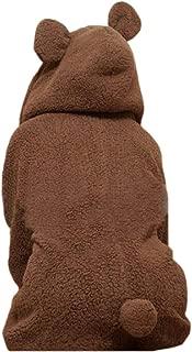 Women's Cute Bear Ear Warm Winter Hoodie Coat Fleece Hooded Jacket Outerwear