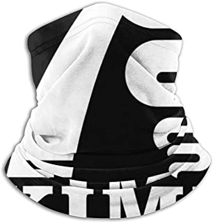 NA Capa Caderno Atletico /Écharpe Cache-Cou en Microfibre Souple Chapeaux Visage /Écharpe Masque pour Temps Froid Hiver Sports de Plein Air