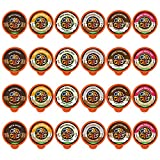 Crazy Cups Flavored Decaf Coffee Pods, Decaf Variety Pack, Decaffeinated Coffee for Keurig Machines, for Hot or Iced Coffee, Single Serve Coffee in Recyclable Pods, 24 Count
