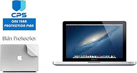 """$620 Get Apple MacBook Pro MD101LL/A - 13.3"""" Laptop Bundle - 2.5Ghz Intel i5, 16GB RAM, 512GB SSD, DVD Drive - (Bundle Includes: Pre-Applied Protective Skin + 1 Year CPS Limited Warranty) (Renewed)"""