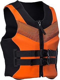 Unisex Life Jassen Snorkel Vest Jacket Zwemvest Volwassenen Kind voor Duiken Zwemmen kajakken, Raften, Vissen, Surfen, Wat...