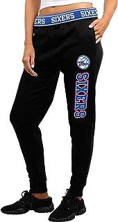 X-Large Black GIII For Her NBA Philadelphia 76ers Womens Warm Up Leggings