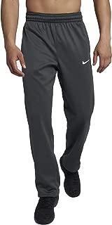 Mens Therma-Fit Elite Basketball Pants Grey/White