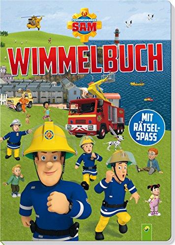 Feuerwehrmann Sam Wimmelbuch: Mit Rätselspaß