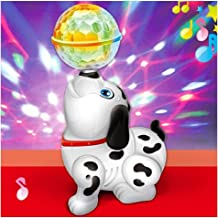Vikas Gift Gallery Dancing Dog Sound Toy with Music and Light for Kids