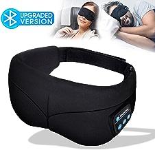 Sleep Mask Headphones, Bluetooth Eye Mask, Headband...