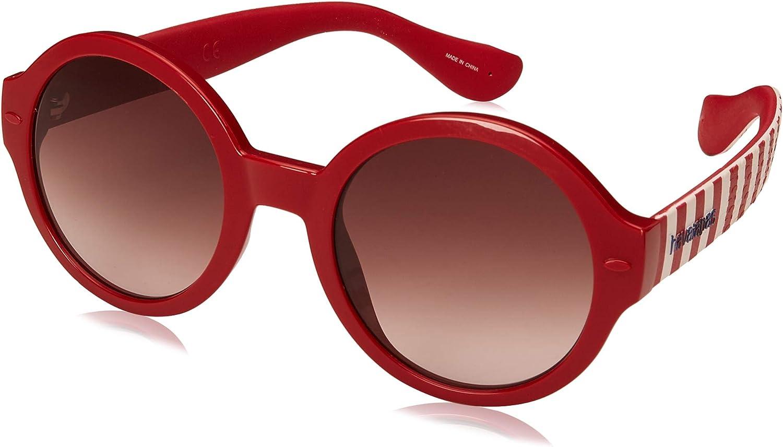 Havaianas Sunglasses Floripa/M Montures de lunettes Femme Multicolore (Dkred Str)