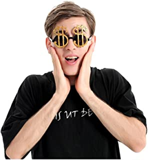 Interesting USD Party Tricky Funny Glasses Photo Booth Props Party Favours