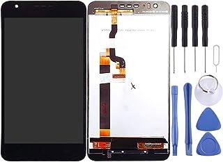 مجموعة الهاتف الخلوي Lingland مجموعة شاشة LCD ومحول رقمي المجموعة الكاملة لهاتف HTC Desire 10 Life Stylele(أسود) التجميع ا...