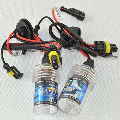 Boomboost New Car Xenon HID Ampoule une paire de xénon HID Ampoule H11 6000 K
