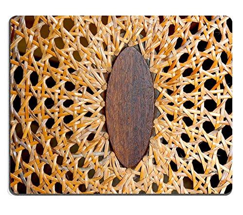 luxlady Caucho Natural Gaming Mousepads Closeup – Abstracto de patrones y texturas en tejido de mi