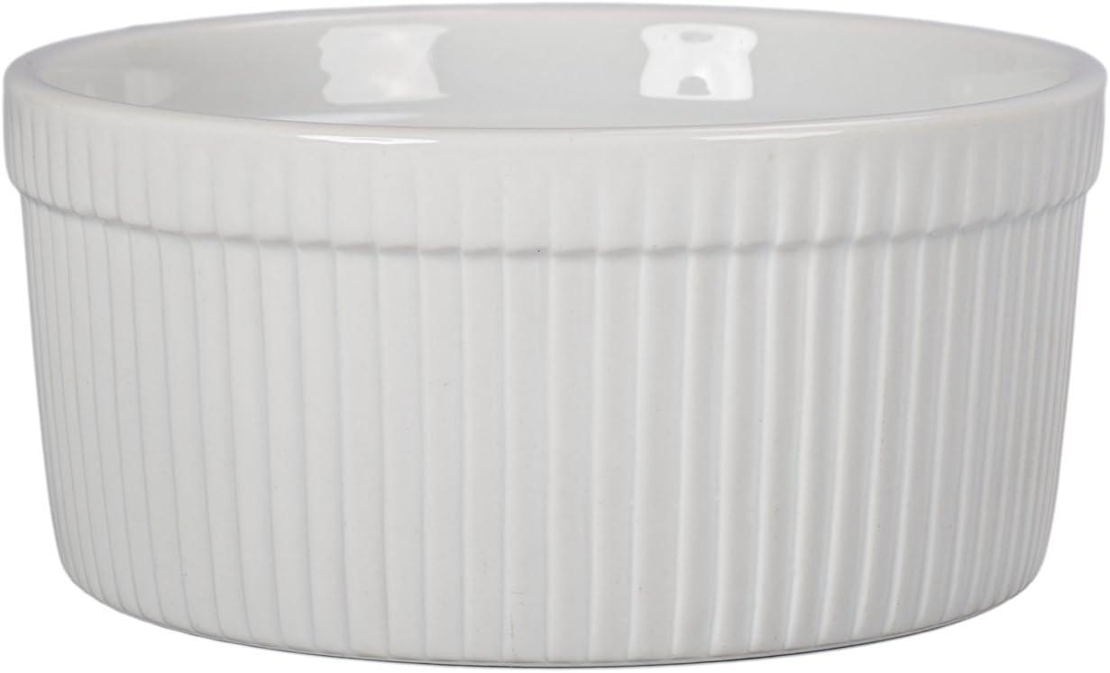 BIA Cordon Bleu Classic Lowest price challenge Bakeware White Souffle Max 86% OFF Dish