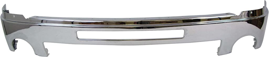 2007-2013 Gmc Sierra 1500 Pickup Front Bumper Face Bar Chrome (With Air Intake Hole) GM1002834