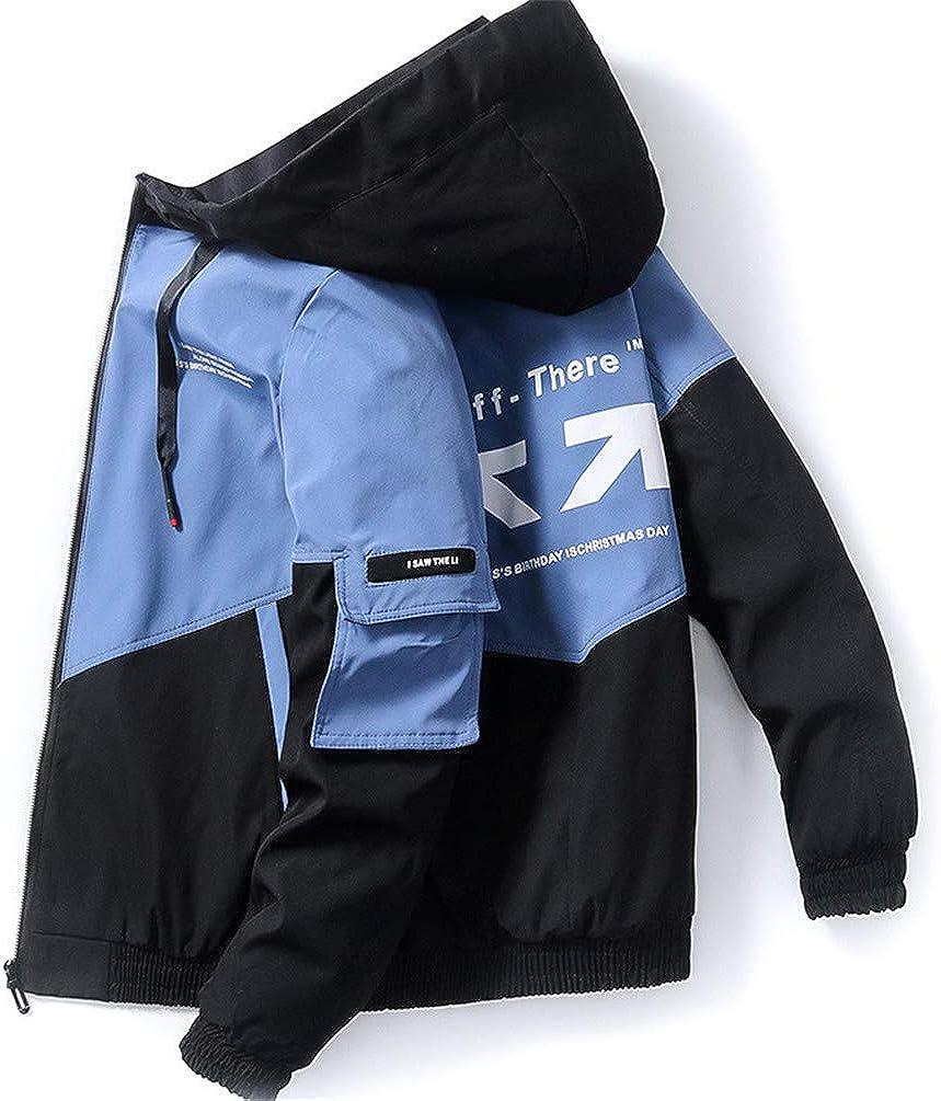 COTZFOZ Spring Autumn Streetwear Jackets Hooded Max 63% OFF Windb Casual Men shopping