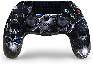 PS4 Controller Wireless 2020 New Skull Style Dual Shock 4 Gaming Controller for Playstation 4/PS4...
