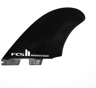 FCS 2 Machado Quad PG Black