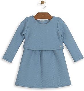 Vestido Matelassê Bebê Up Baby