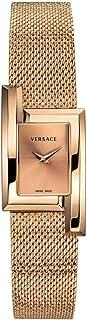 Versace Quartz Rose Dial Ladies Watch VELU00619