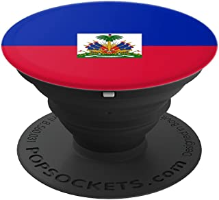 Haitian flag phone holder - PopSockets Grip and Stand for Phones and Tablets