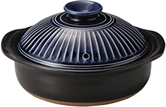 Praktisch Casserole gerechten braadpan schotel met deksel braadpan aardewerk pot warme pot, klei rijst fornuis, ronde kera...