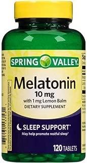 Spring Valley - Melatonin 10 mg, 120 Tablets