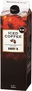 ドトールコーヒー LC154 無糖アイスコーヒー 1000ml×6箱