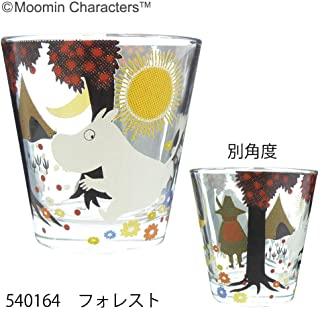 Koji Company Moomin Sofia Glass Cup (Forest) 540164