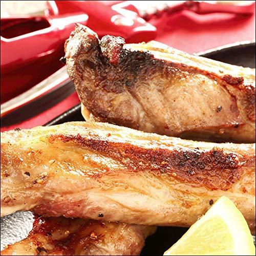 ラム肉 骨付きラム肉 スペアリブ (1袋 約300g 6本入り×4P/冷凍) 業務用 羊肉 千歳ラム工房 肉の山本