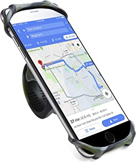 Cyclepartner Universal Phone Mount for Bike Non-Slip Shockproof German Silicone Cellphone Bicycle Motorcycle Holder Mobile...
