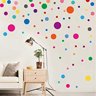 PARLAIM Wall Stickers for Bedroom Living Room, Polka Dot...