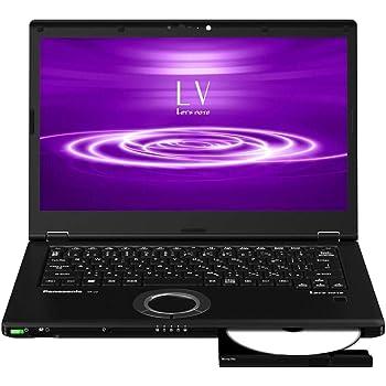 パナソニック CF-LV8PDNQR Let`s note LV8 店頭(Core i7-8565U/SSD512GB/BD/W10Pro64/14FullHD/ブラック/OFHB2019)