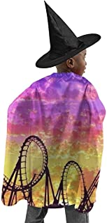 My I Love ROLLERCOASTERS Children Halloween Witch Suit Halloween Birthday Party Role Play Costume