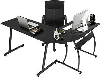 GreenForest L Shaped Gaming Computer Desk 58.1'',L-Shape Corner Gaming..