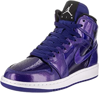 Nike Air Jordan 1 Retro High Basketball Shoe Boys Fashion-Sneakers bstn_705300-420_6Y - Deep Royal Blue/Black/White