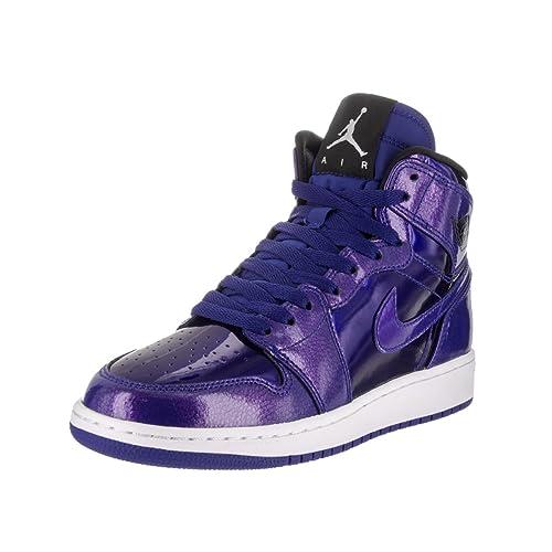5e82d51a4cc1 Nike Air Jordan 1 Retro High Basketball Shoe Boys Fashion-Sneakers  bstn 705300-420 5Y -