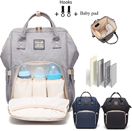 Baby Diaper Bag Multi-Function Waterproof Travel Backpack Nappy Bags for  Baby Care 10208edce2742