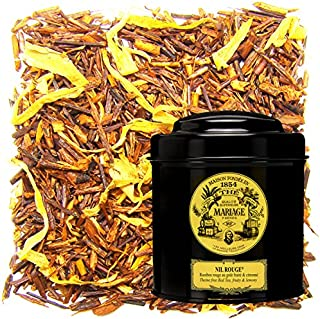 MARIAGE FRERES. Nil Rouge, 100g Loose Tea, in a Tin Caddy (1 Pack) Seller Product Id MRLS226 - USA Stock