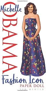 Michelle Obama Fashion Icon Paper Doll
